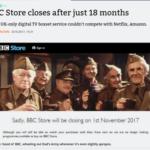 BBC staakt eigen video dienst