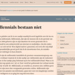 Millennials, marketing en kritisch navragen